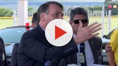 Bolsonaro se descontrola com jornalista