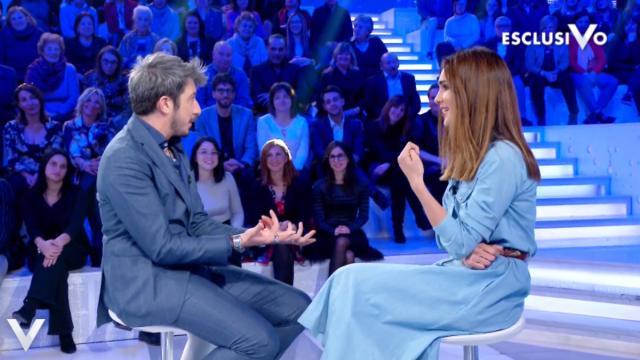 Anticipazioni Verissimo 21 dicembre, Ruffini su Del Bufalo: 'Vederla soffrire mi fa male'