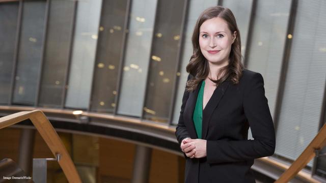 Finland's new Prime Minister is 34-year-old Sanna Marin