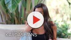 Kourtney Kardashian gets a 'blood facial'