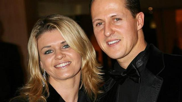 Esposa de Schumacher atualiza estado de saúde do marido