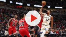 Milwaukee vence Bulls e segue na liderança isolada da NBA