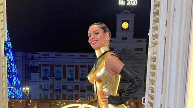 Pedroche destaca en la noche de las Campanadas con su vestido