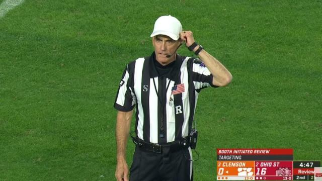 Trouble for referees as Ohio State, officiating chef, Kirk Herbstreit question decisions