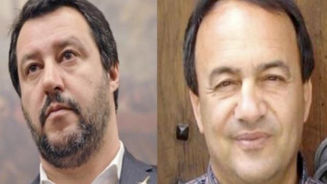 Riace, sardine con Lucano: Salvini ironico 'Vorrebbero portare mezza Africa in Italia'