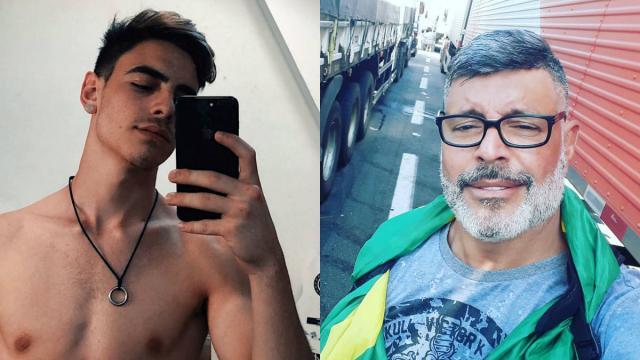 Filho de Alexandre Frota segue os passos do pai no entretenimento adulto
