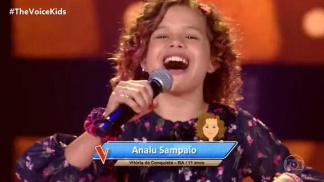 Estreia de 'The Voice Kids' apresenta cantora mirim que tem anos de experiência na TV