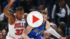 Luka Donic deu um show na vitória do Dallas sobre o Chicago Bulls