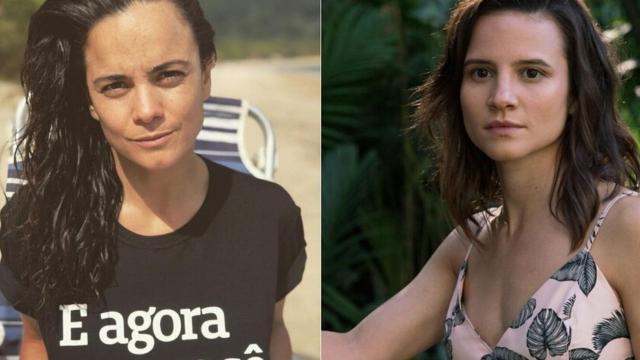 Bianca Comparato revela relacionamento com Alice Braga