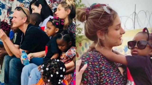 Sasha e Xuxa Meneghel realizam viagem missionária pela África juntas