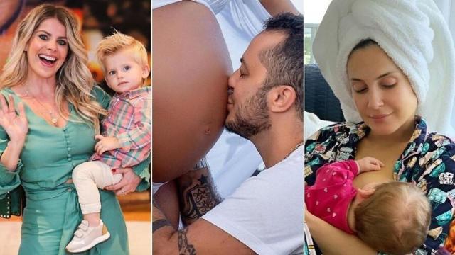 Miami é o paraíso para famosos terem 'bebês norte-americanos'