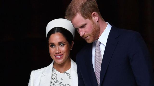 La monarquía británica 'rota' a causa del príncipe Harry y Meghan Markle