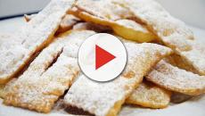 Le chiacchiere: un dolce goloso, caratteristico del periodo di Carnevale