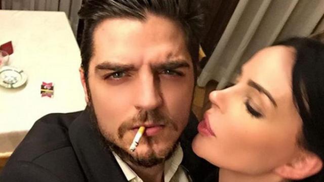 Nina Moric a Domenica Live su Favoloso: 'Mi picchiava, ha messo le mani addosso a Carlos'
