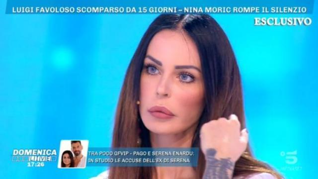 Luigi Favoloso, Nina Moric su scomparsa, 'Ha organizzato tutto e ha aggredito me e Carlos'