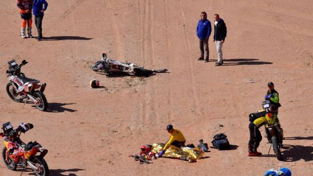 Piloto português Paulo Gonçalves morre durante sétima etapa do Rally Dakar