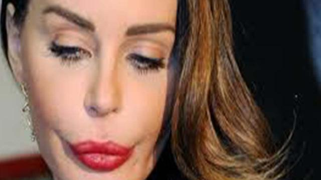 Domenica Live, Nina Moric accusa Luigi Favoloso di aver usato violenza fisica su di lei