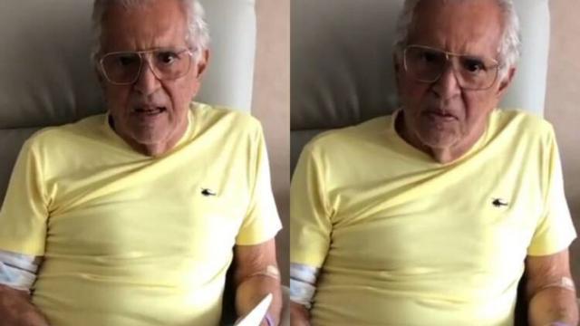 Carlos Alberto de Nóbrega revela que está com infecção na próstata