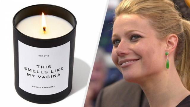 Gwyneth Paltrow mette in vendita un gadget che odora come le sue parti intime
