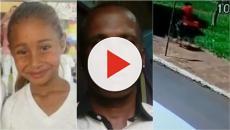 Caso Emanuelle: vídeo mostra momento em que suspeito abordou menina antes de sua morte