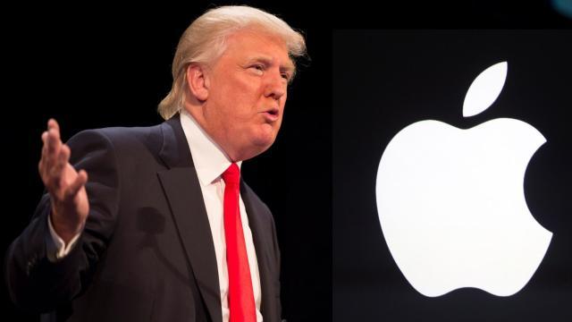 Donald Trump contro Apple: