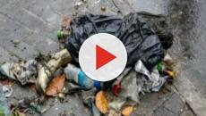 Gari encontra perna humana quando estava recolhendo o lixo