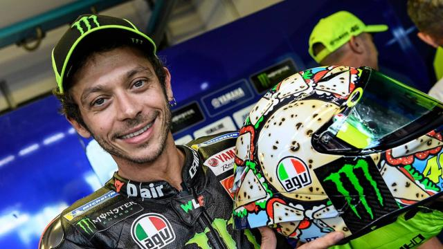 Valentino Rossi pronto per la nuova stagione del Motomondiale
