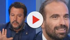 L'aria che tira, Salvini e Marattin hanno avuto un acceso scambio di battute sul tema Q100