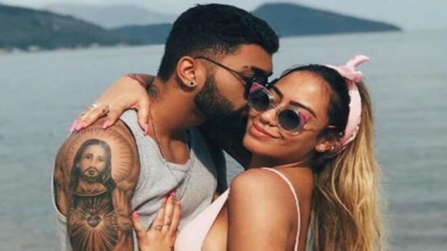 Rafaella , irmã de Neymar, está gravida de Gabigol