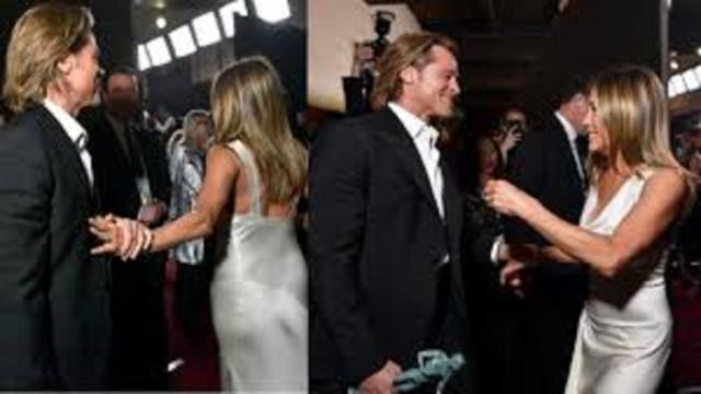 Brad Pitt et Jennifer Aniston de plus en plus complices