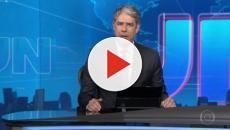 Willian Bonner viraliza na web com após ler a nota da Rede Globo sobre Regina Duarte