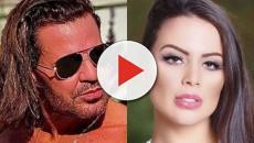 Eduardo Costa ataca ex namorada e a chama de psicopata e desleal