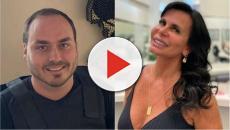Gretchen fala a respeito da publicação de Carlos Bolsonaro: 'é apaixonado pelo Thammy'