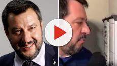 Bologna, Giornalisti e poliziotti hanno accompagnato Salvini nel quartiere Pilastro