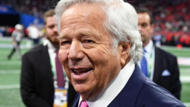 The New England Patriots owner Robert Kraft says team plans to keep Tom Brady