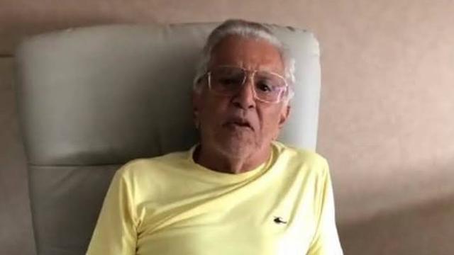 Carlos Alberto de Nóbrega diz que morreria caso não fosse internado