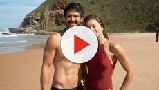 'Bom Sucesso': Rômulo Estrela faz vídeo comovido com Grazi Massafera nos bastidores