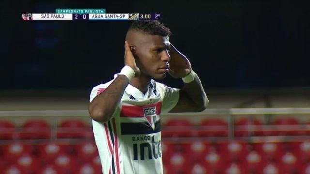 São Paulo vence o Água Santa na estreia do Paulistão