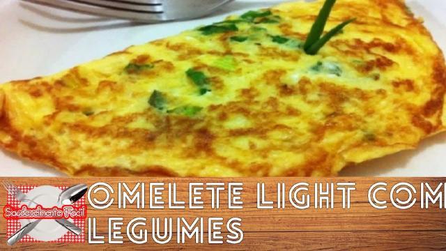Omelete de legumes muito fácil de fazer