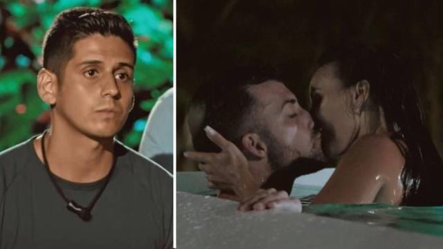 'Isla Tentaciones': La viral reacción de Christofer al descubrir la infidelidad de Fani