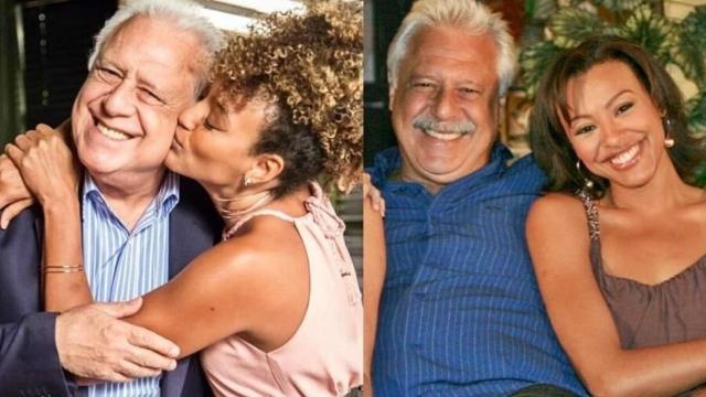 Sheron Menezzes tem despedida com Antonio Fagundes ao final de 'Bom Sucesso': 'amo você'
