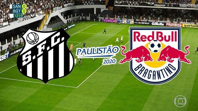 Santos e Red Bull Bragantino não acham o caminho do gol e ficam no empate na Vila Belmiro