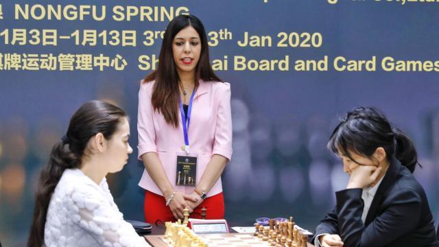 Iranian chess referee Shohreh Bayat fears returning to Iran
