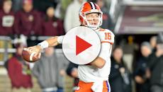 LSU fans mocking Trevor Lawrence for getting nervous before big games