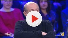 Giancarlo Magalli, incidente stradale: auto distrutta, ma nessuno ferito
