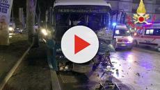 Roma, tragico schianto sulla Tiburtina tra una Panda e un bus: perdono la vita due giovani