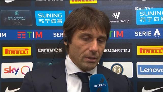 Conte in conferenza pre Inter-Cagliari: 'Stiamo sereni, abbiamo perso solo contro Juve'
