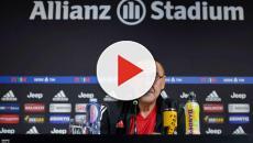 Juventus, Maurizio Sarri: 'Rigori? Forse è il momento di rifare le maglie a strisce'