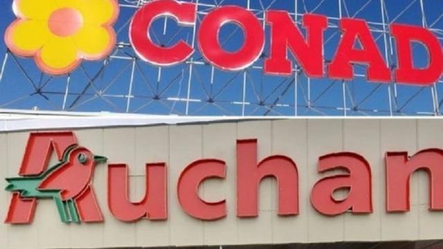 Conad, inviata la lettera di licenziamento a 817 ex dipendenti Auchan