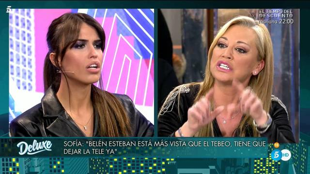 'Sábado Deluxe' / Sofía Suescun avisa a Belén Esteban: 'No te tengo miedo'